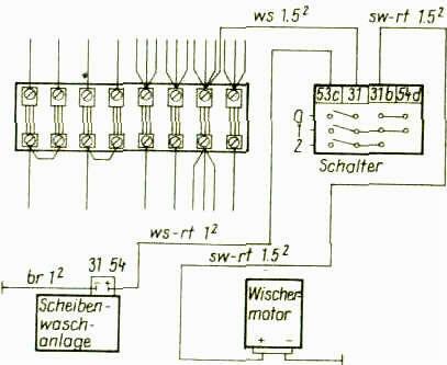 Gemütlich Valeo Wischermotor Schaltplan Ideen - Elektrische ...