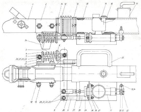 Qek junior hydraulische auflaufbremse